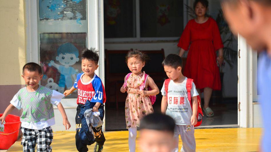 Schulkinder in China (Symbolfoto)