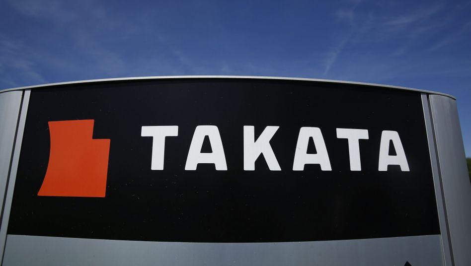 Takata-Schriftzug