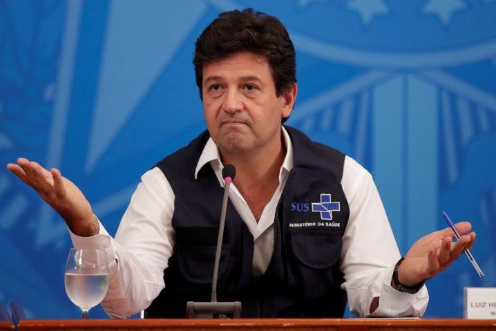 Brasiliens Gesundheitsminister Mandetta