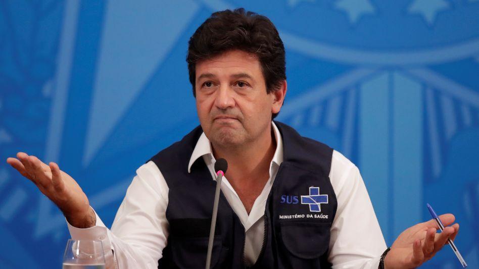 Brasilianischer Gesundheitsminister Mandetta: Zuspruch aus der Bevölkerung