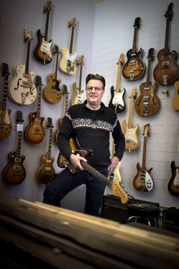 Lutz Heidlindemann, alias Guitardoc