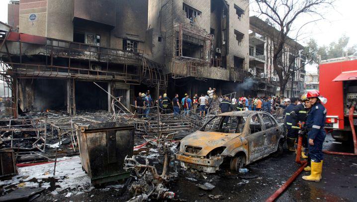 Anschlag im Irak: Terror in Bagdad