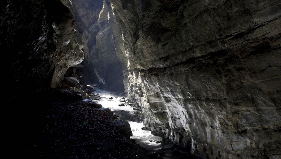 Taminaschlucht in der Nähe des Unglücksortes (Symbolfoto)