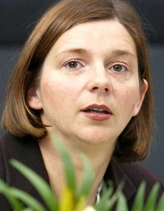 Verwehrt sich gegen Kritik des Koalitionspartners: Grüne Göring-Eckardt