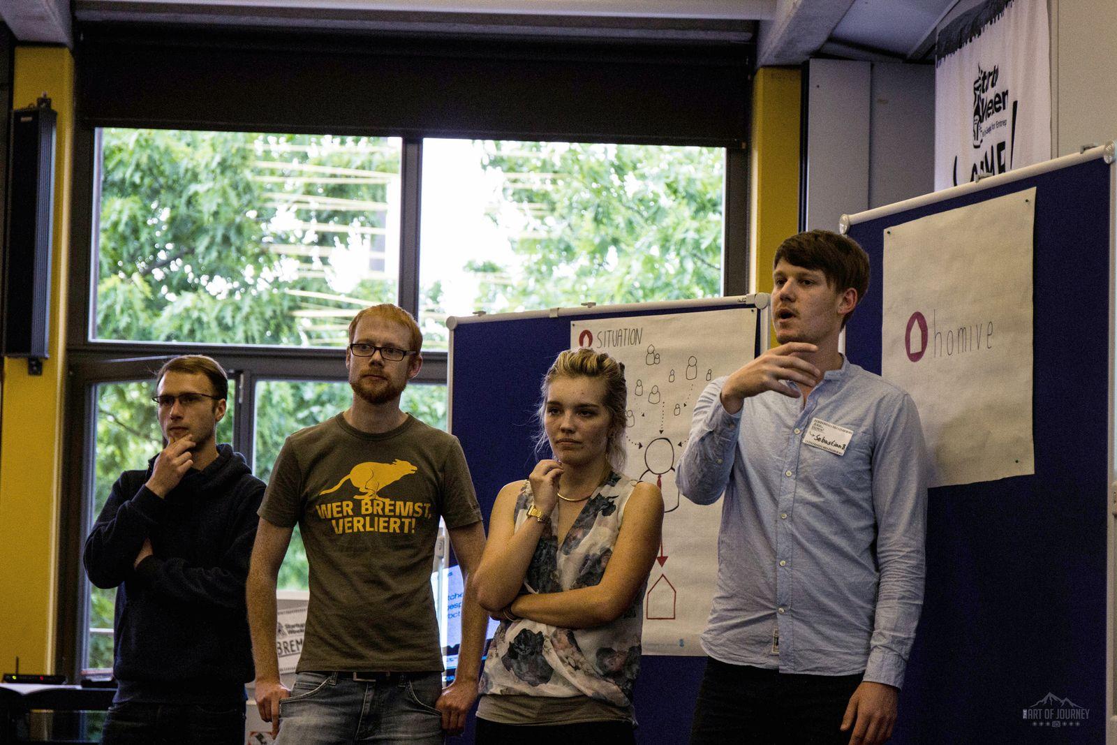 EINMALIGE VERWENDUNG Startup Wochenende Bremen