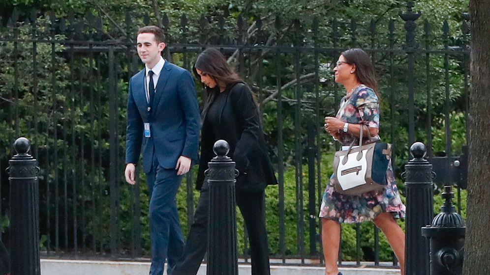 Fotostrecke: Kardashian im Weißen Haus
