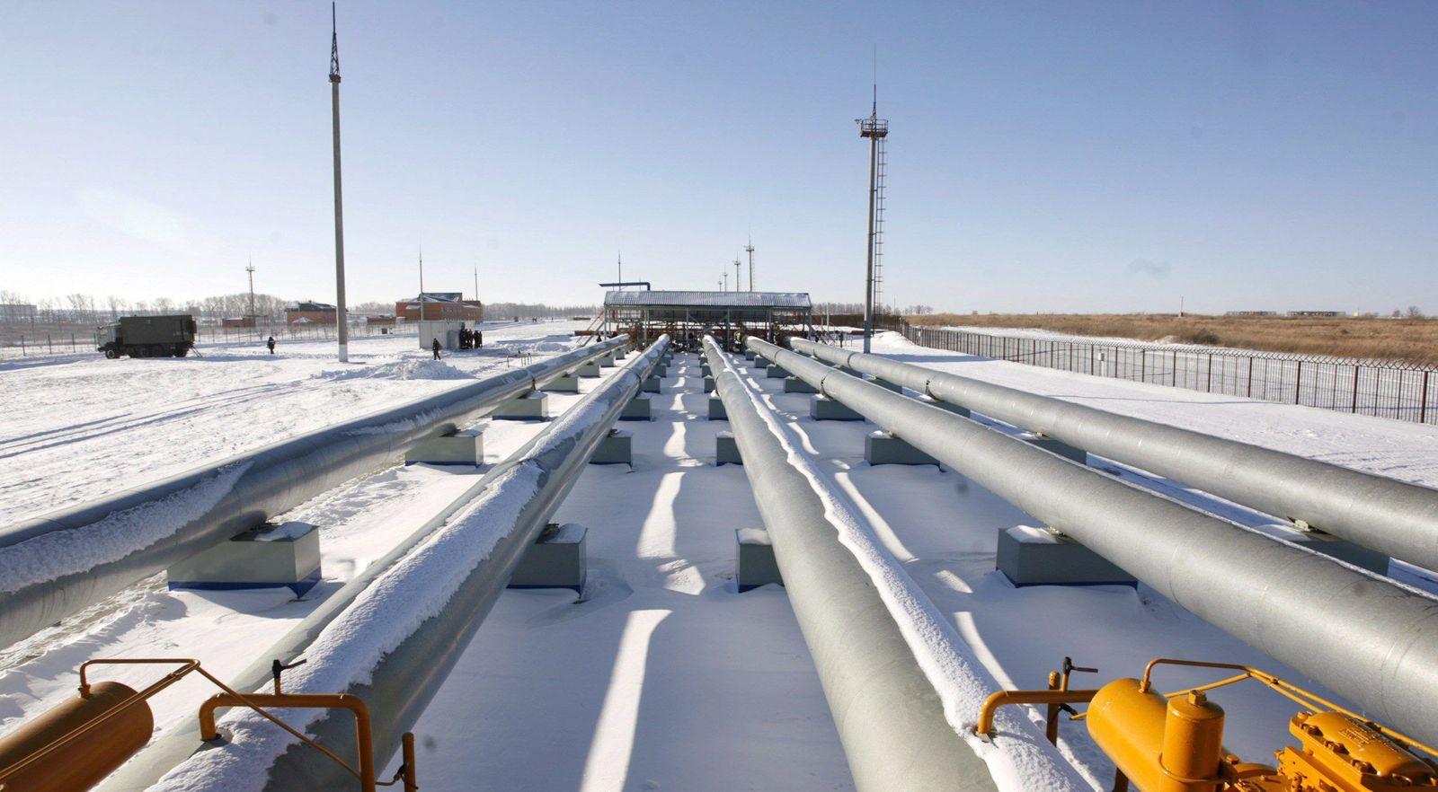 Russland/ Gas