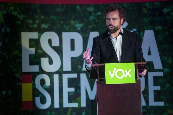 """Möchte in einem Spanien leben, in dem """"Männer noch Männer sein dürfen"""": Iván Espinosa de los Monteros"""