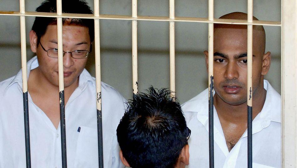 Andrew Chan (l.), Myuran Sukumaran: Zum Tode verurteilt