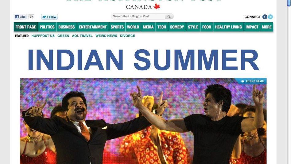 """Kanadische """"Huffington Post"""": Ende des Jahres in zwölf Länderausgaben"""