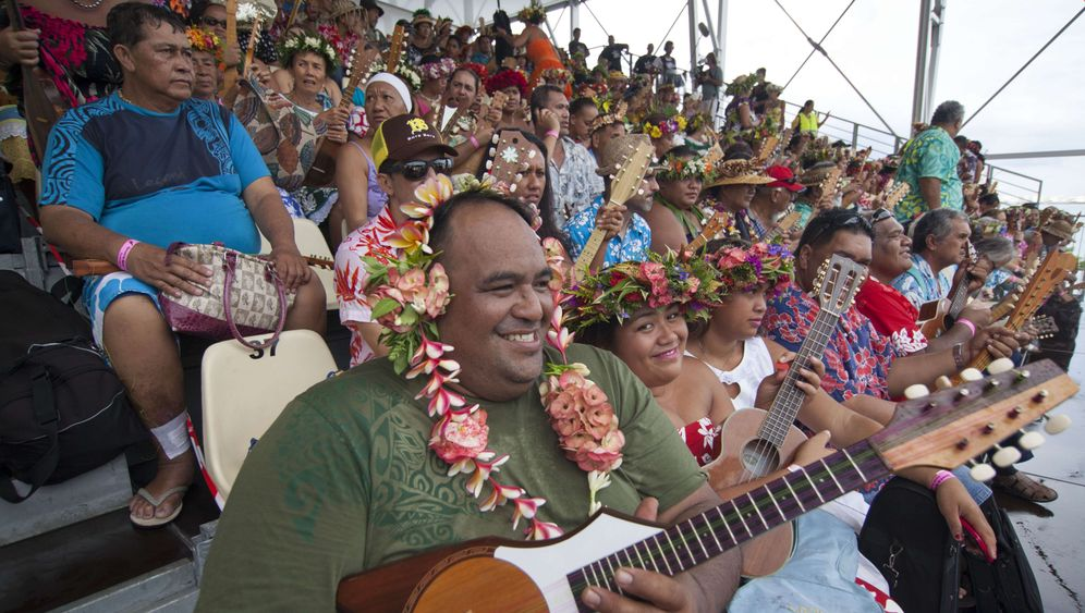 "Ukulele-Rekord: 4750-mal ""Bora Bora"""