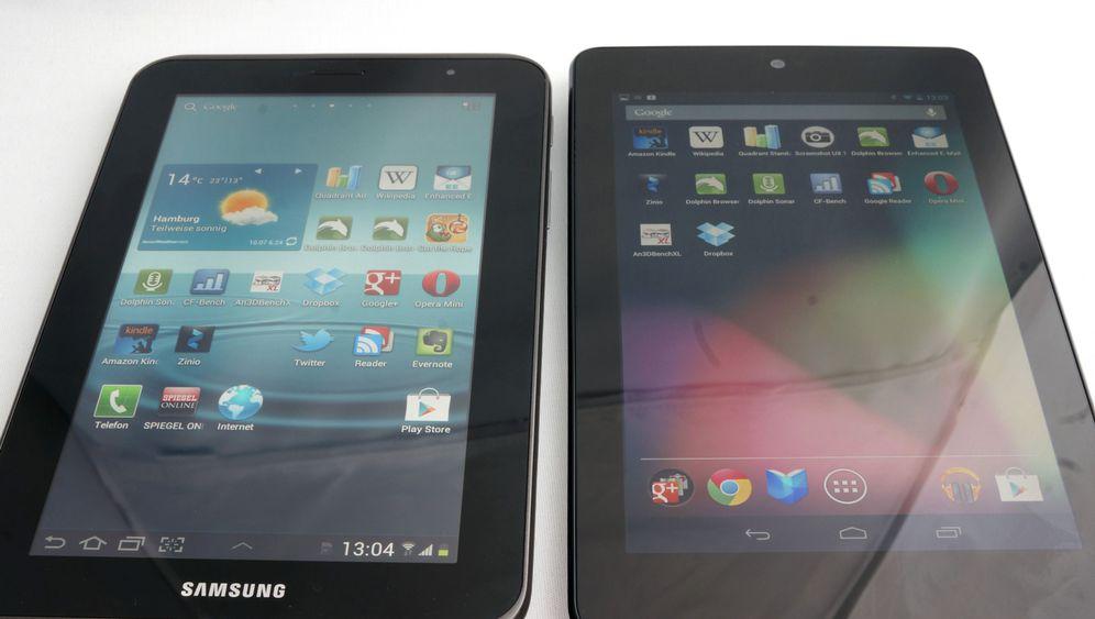 Tablets: Google Nexus 7 und Samsung Galaxy 7 2.0 im Vergleich