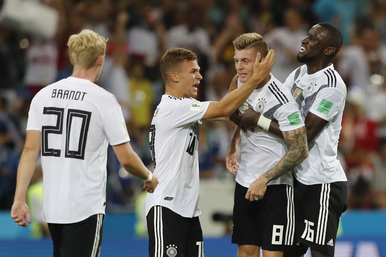 Russia Soccer WCup Germany Sweden