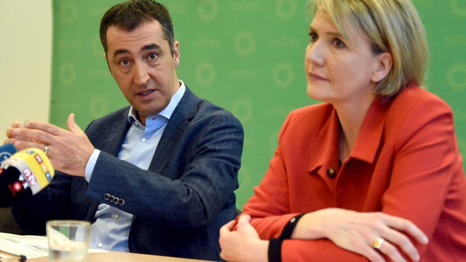 Grünen-Bundesvorsitzende Özdemir, Peter