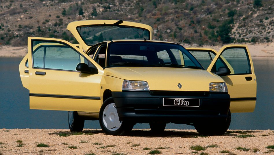 Renault Clio von 1991: deutlich moderner als R4, R5, Ente und Käfer