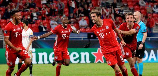Supercup: FC Bayern München gewinnt gegen FC Sevilla, Javi Martínez gelingt Siegtreffer