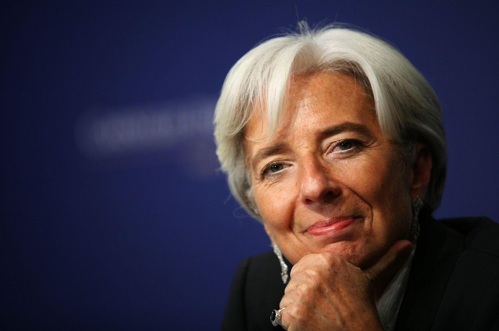 THEMEN Christine Lagarde