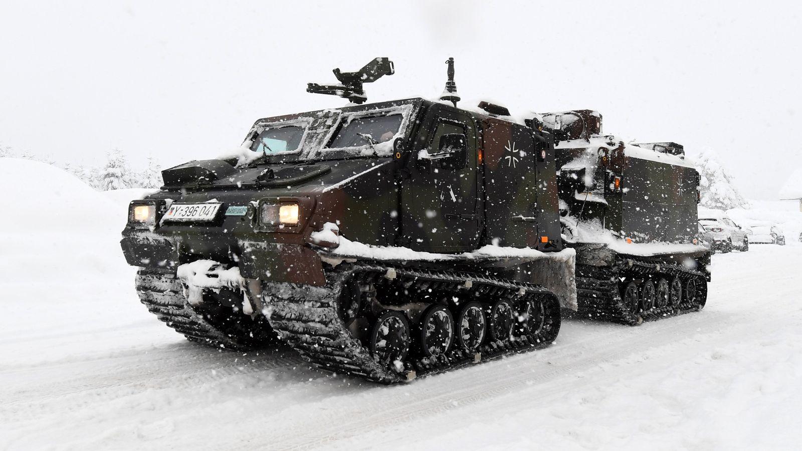 Winter in Bayern Bundeswehr