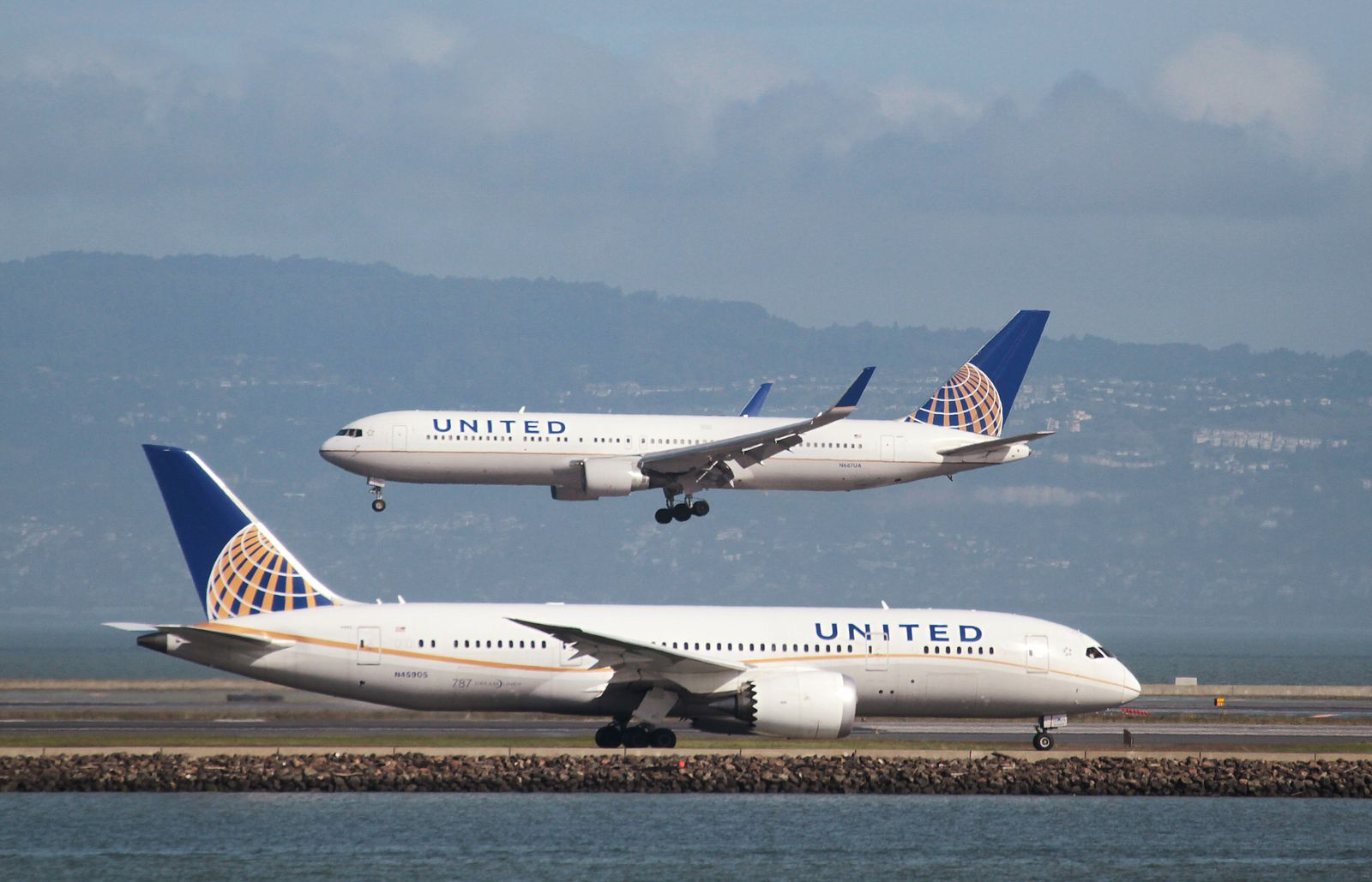 United Airlines/ San Fransisco