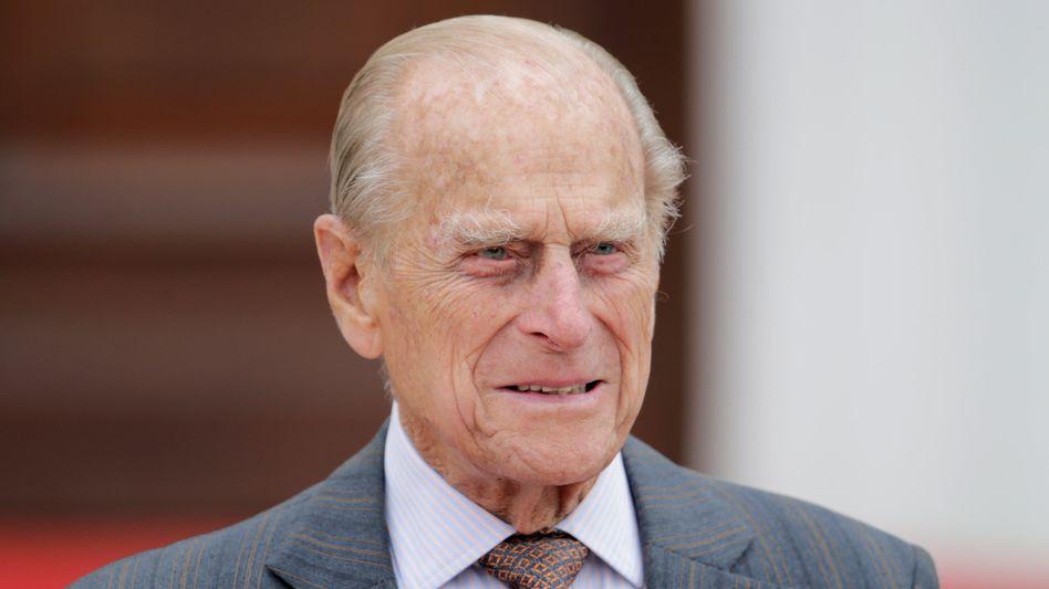 Prinz Philip, der Mann der Queen, starb am 9. April (Archivbild aus 2015): Sein Testament bleibt noch lange geheim