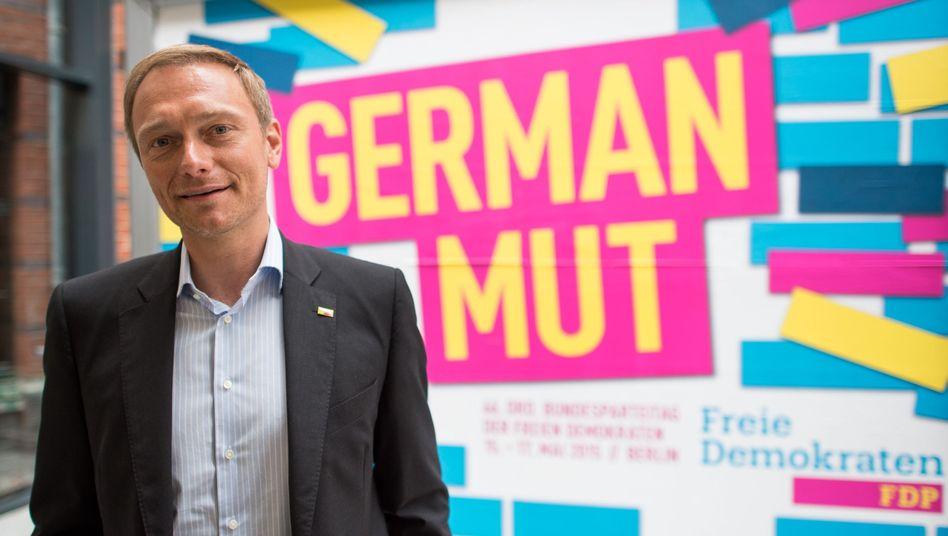FDP-Parteichef Christian Lindner: Will Investitionsfonds gründen