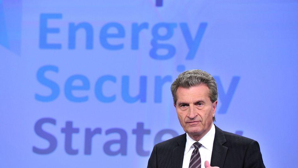 Energiekommissar Oettinger: ungewisse berufliche Zukunft