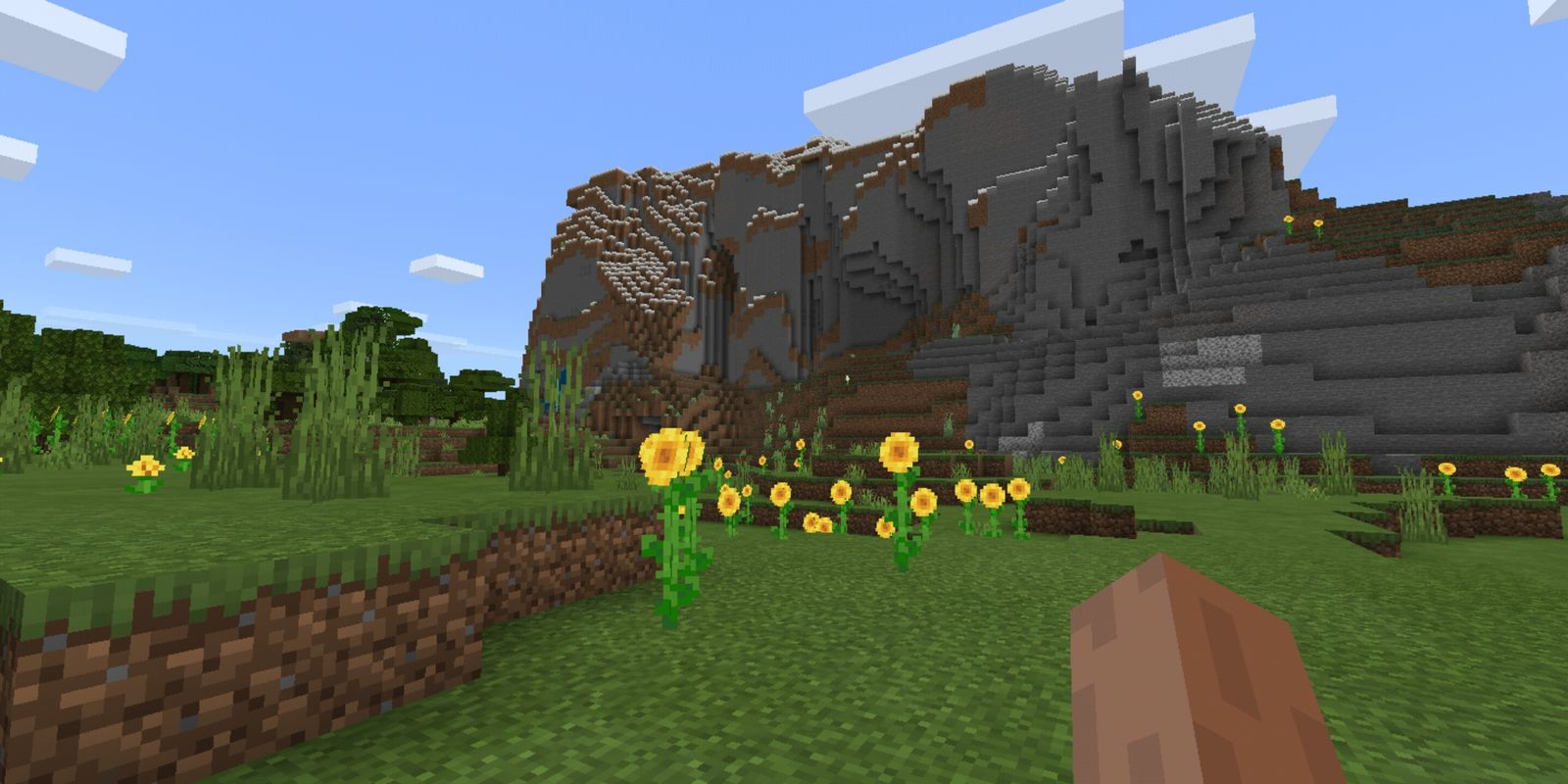 Screenshot aus der aktuellen Android-Version von Minecraft