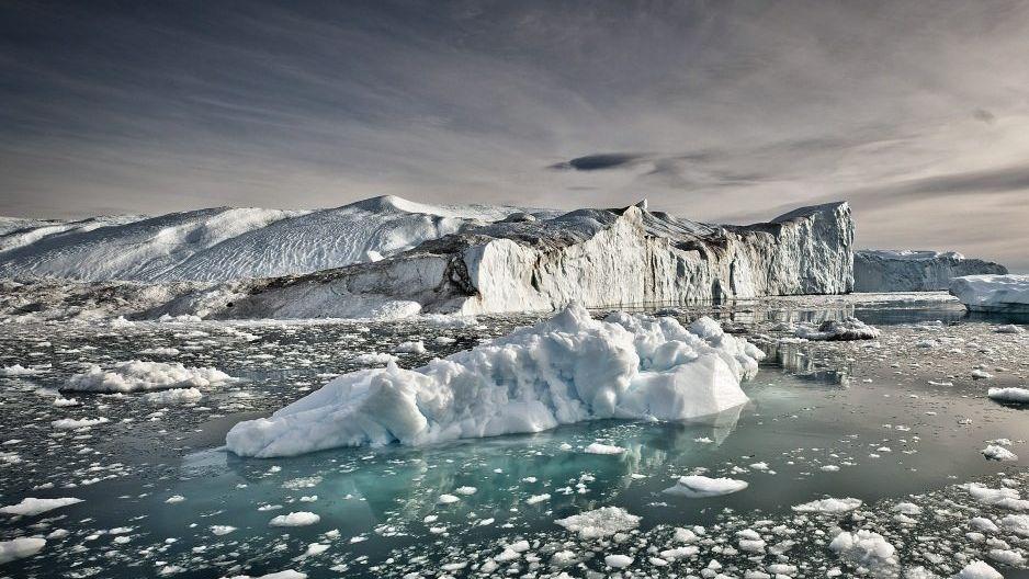 Eisberge vor Grönland