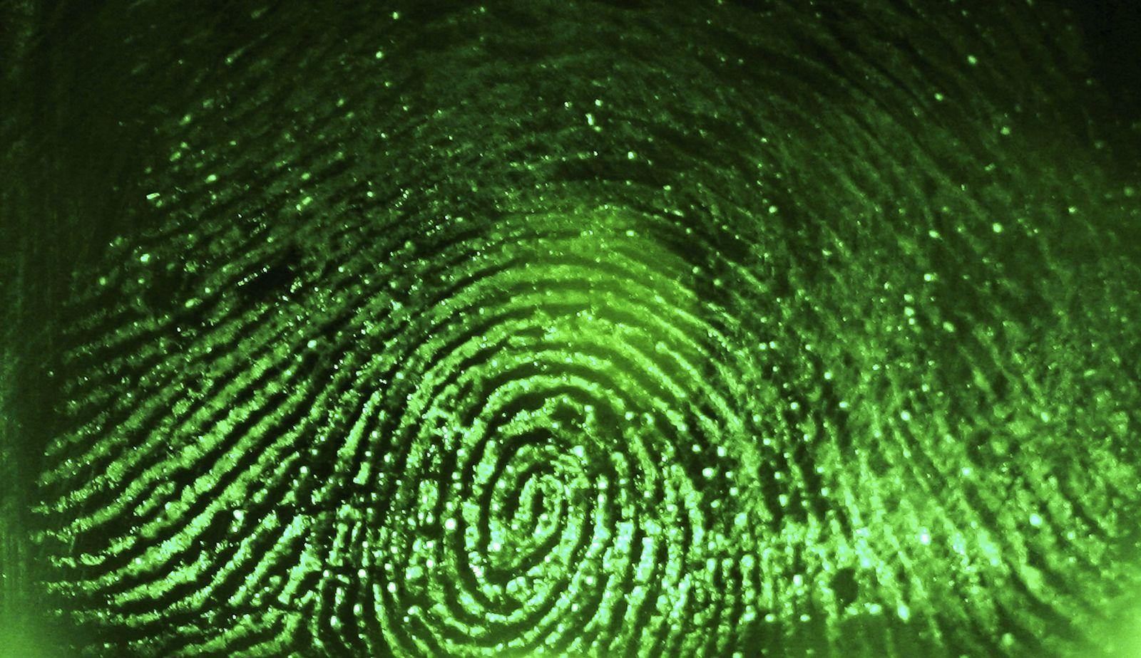 Fingerabdruck / Biothermie