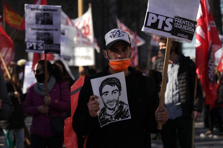 Demonstrierende fordern bei Protesten in Buenos Aires Aufklärung im Fall Facundo