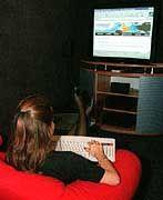 Die Macht des Computers: Internet-Fernseher