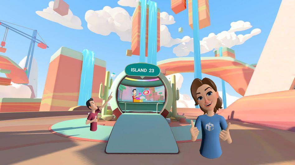 """""""Facebook Horizon"""" soll ein neuer Treffpunkt für Besitzer von Oculus-VR-Brillen werden"""