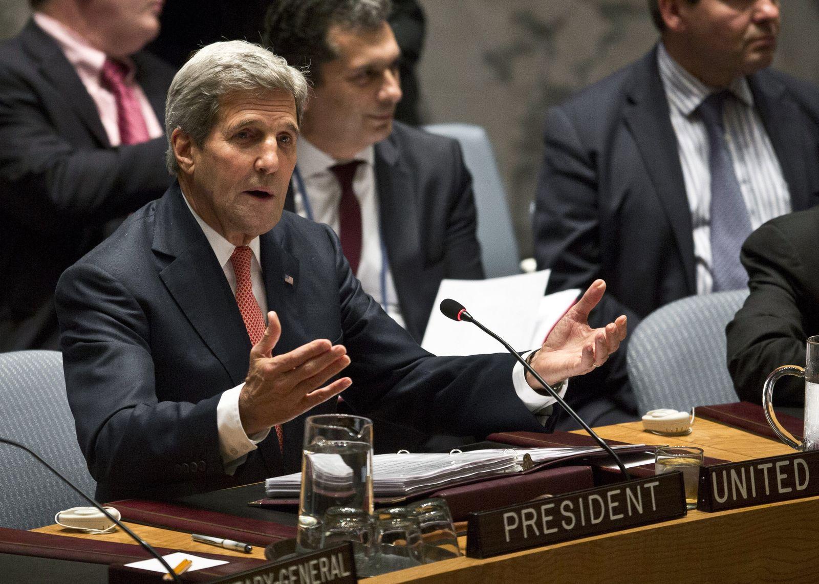 Kerry Uno-Sicherheitsrat
