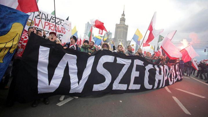 Polen: Aufmarsch in Warschau