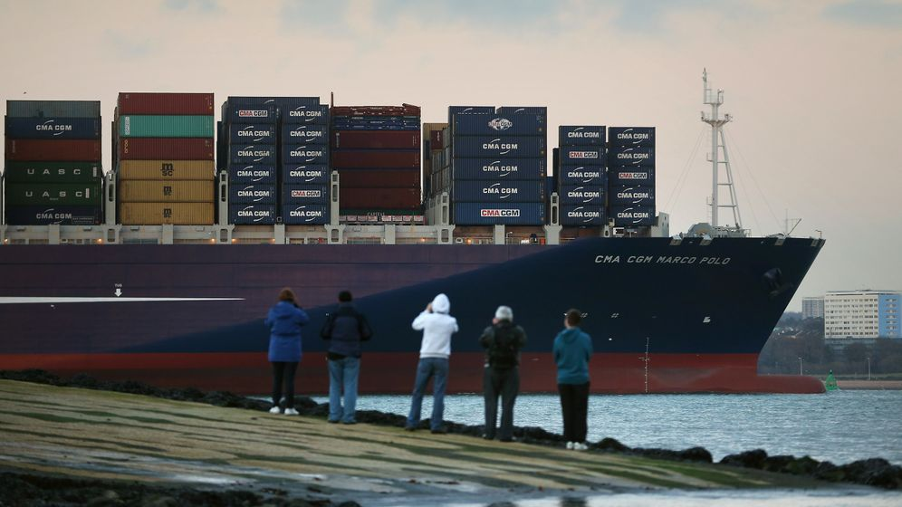 Photo Gallery: The World's Largest Container Ship