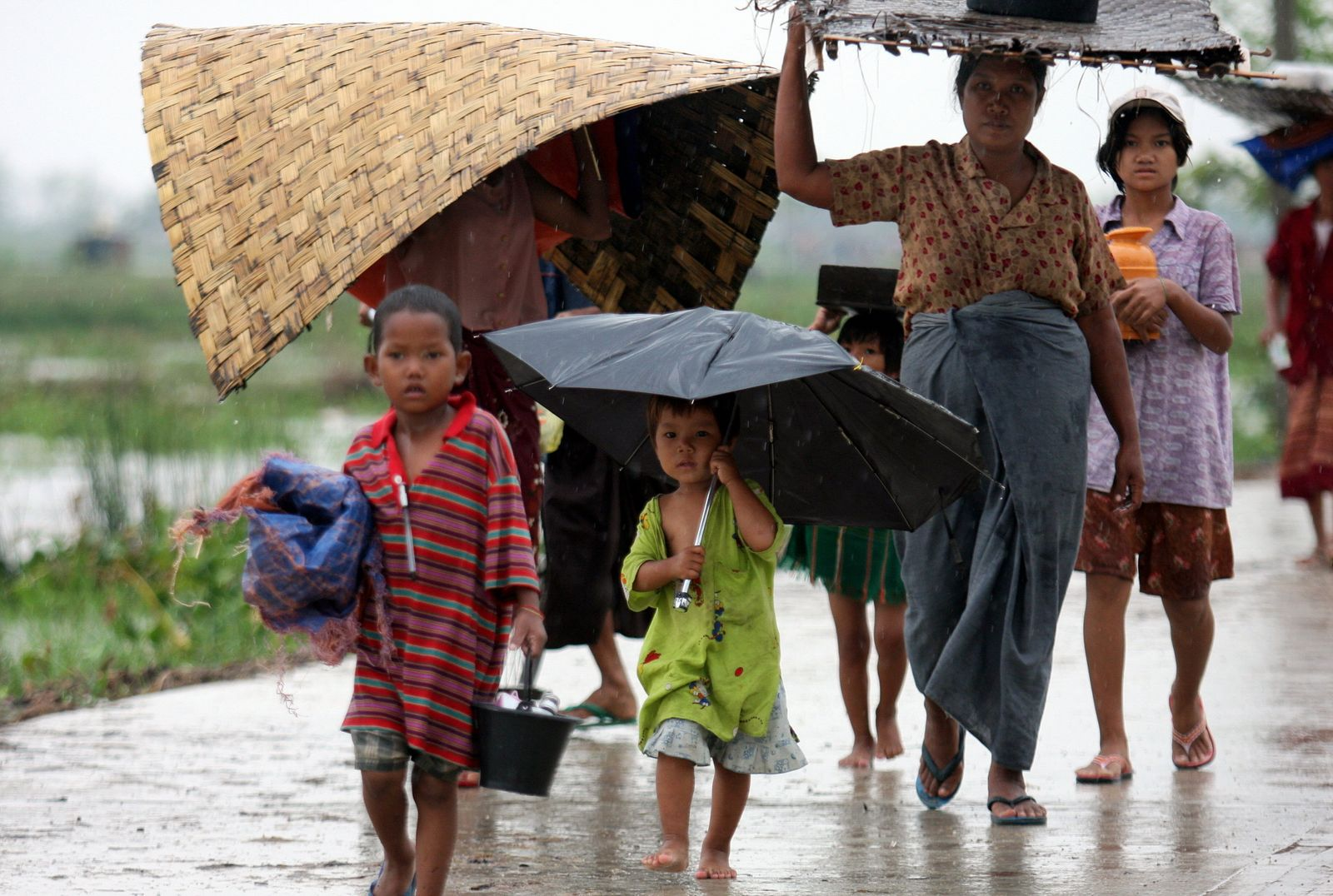 MYANMAR-WEATHER-CYCLONE