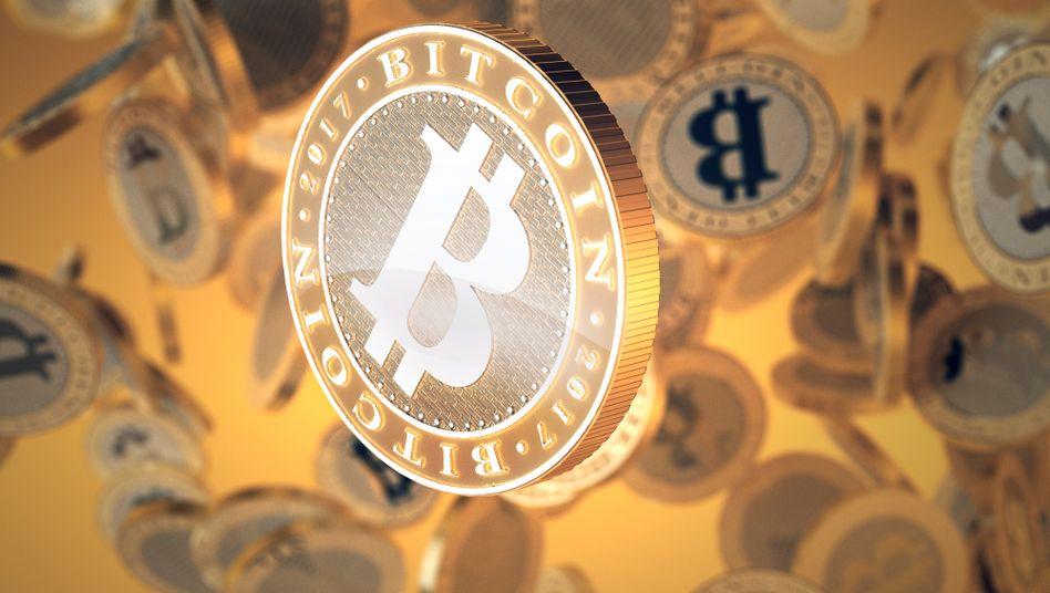 Valuta digitale Bitcoin (immagine simbolo)