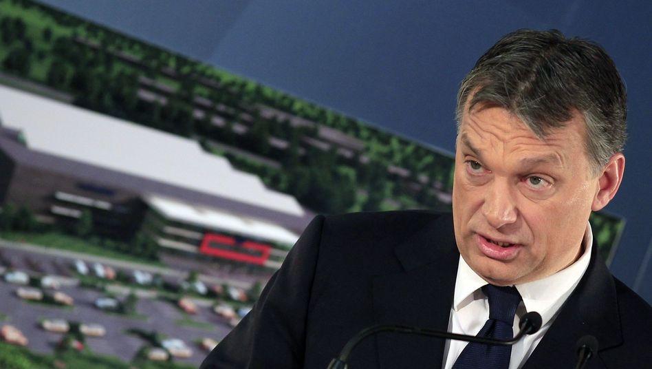"""Ungarns Premier Orbán: """"Schlechte Auffassung von Führung"""""""