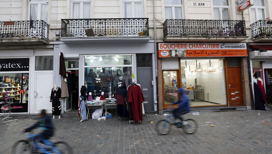 Molenbeek is the Brussels neighborhood that has been associated with four recent planned terrorist attacks, including those in Paris on Friday and the foiled plot against a high-speed Thalys train in August.