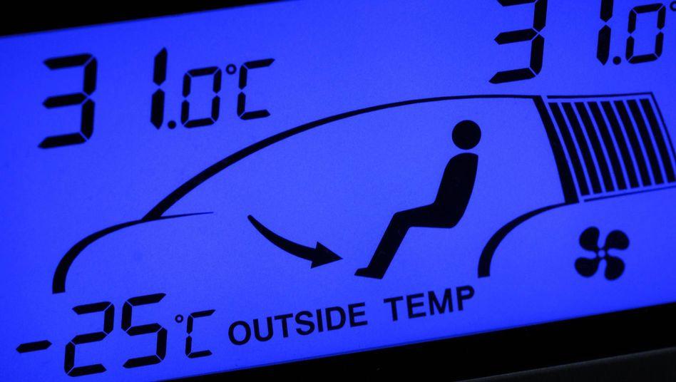 Klimaanzeige im Auto: Das Kältemittel R1234yf sorgt weiter für Streit