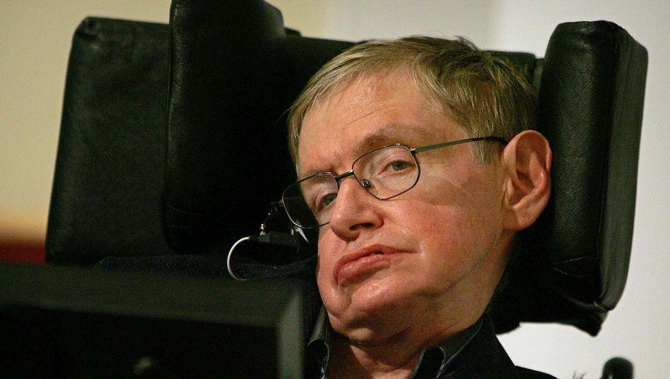 Stephen Hawking (Archivbild): Am 8. Januar 2015 wurde der Physiker 74 Jahre alt