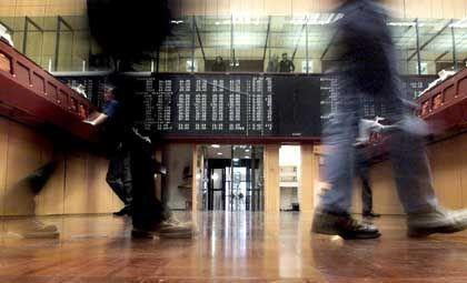 Frankfurter Börse: Glattes Parkett, glatt gelogen