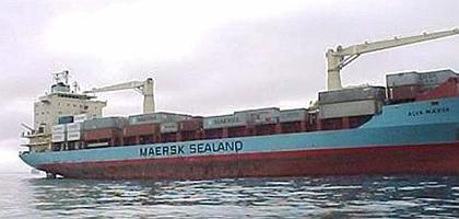 """Die """"Maersk Alabama"""" auf undatiertem Archivbild, noch unter anderem Namen: Die Besatzung hat das Schiff wieder unter Kontrolle"""