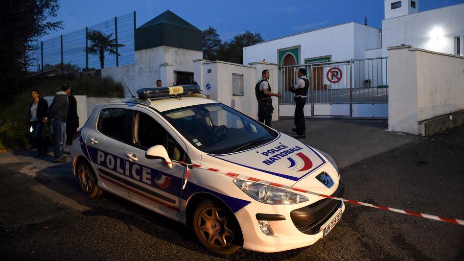 Moschee in Bayonne: Brandbeschleuniger gefunden