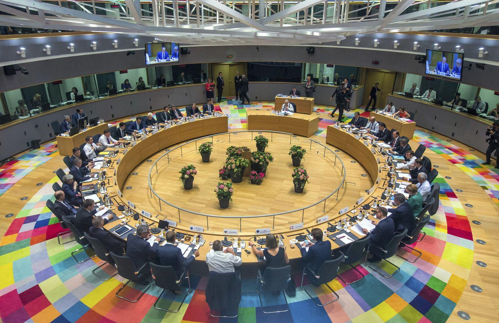 Eu Gipfel/ Brüssel/ Übersicht