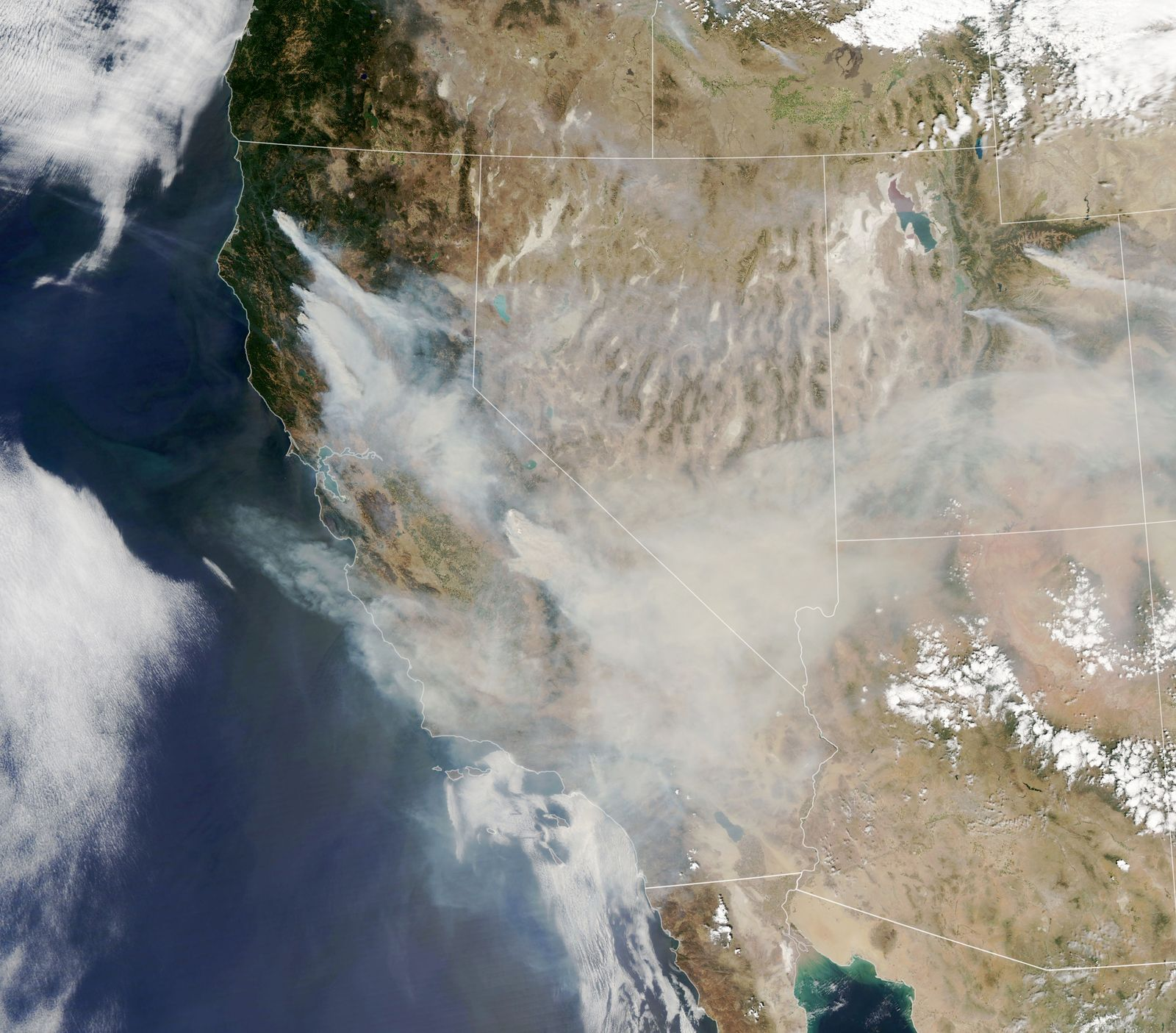 Intense fires raged in several western states over the Labor Day weekend.
