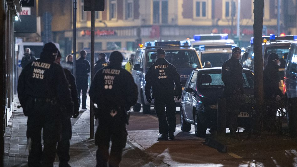Razzia in Köln: Aktion gegen Diebesbanden