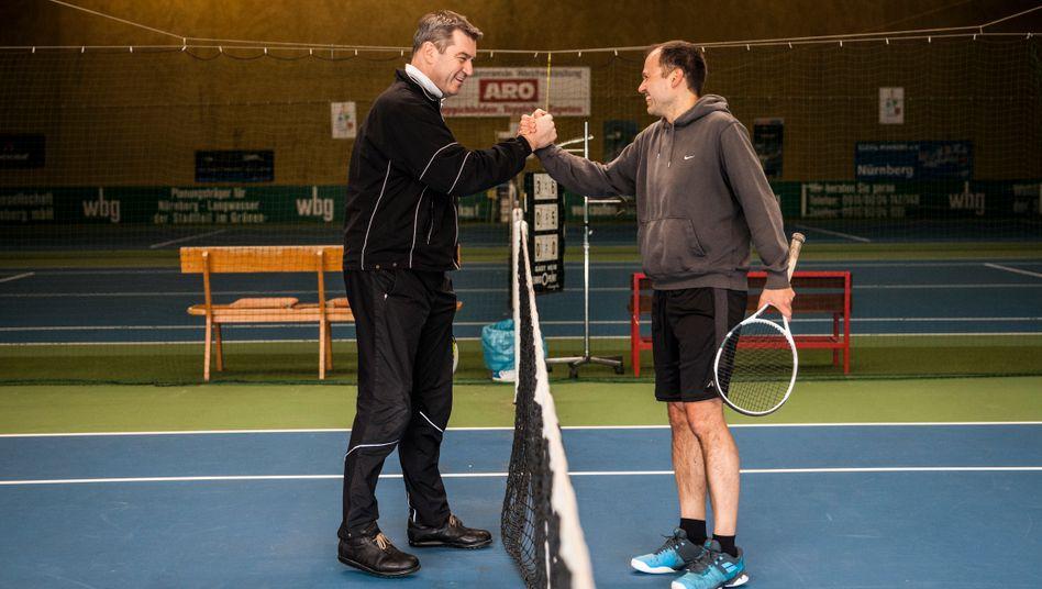 """Tennisspieler Söder, Hujer: """"Kein Babytennis"""""""