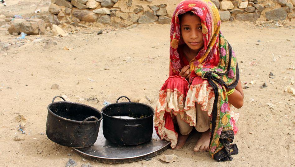 Kind im Jemen (Archivbild): Schreckliche Schicksale hinter den nackten Zahlen