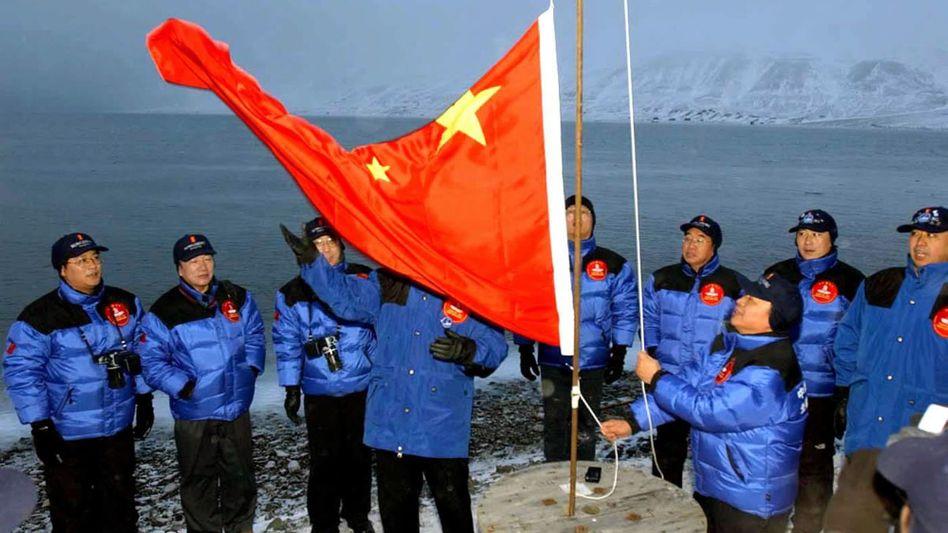 """Chinesische Expedition auf Spitzbergen (2001): """"Nach kapitalistischen Regeln spielen"""""""